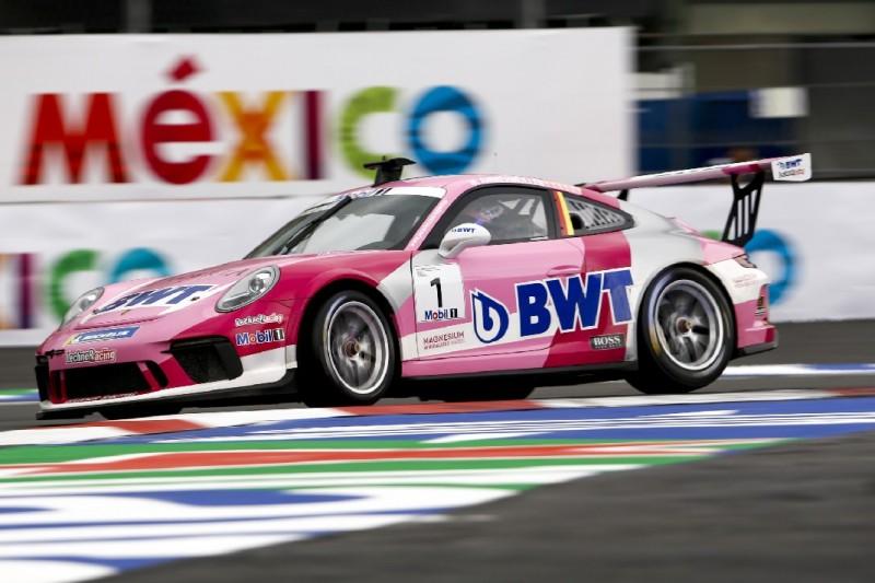 Porsche-Supercup Mexiko 2019: Michael Ammermüller krönt sich zum Meister
