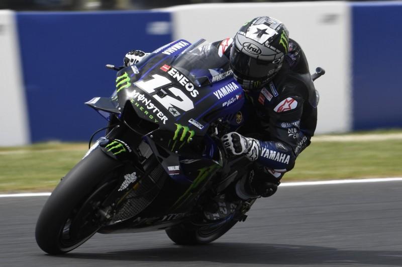 MotoGP Australien 2019: Vinales mit dominanter Pole, Rossi auf Platz vier