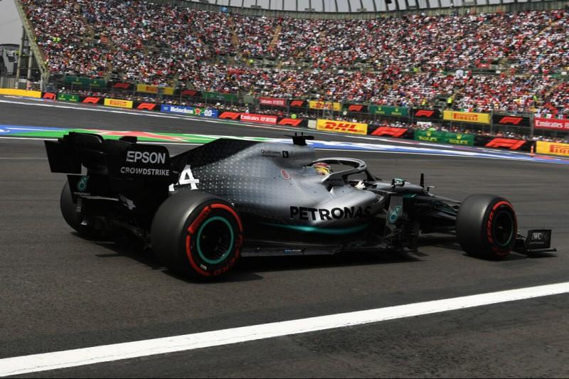 Mercedes guter Dinge: Renn-Set-up seit Freitag umgebaut