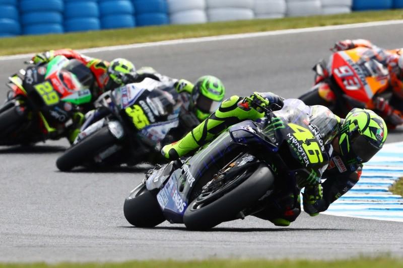 """""""Großartiger Start, aber Ergebnis nicht fantastisch"""": Rossi in Australien Achter"""