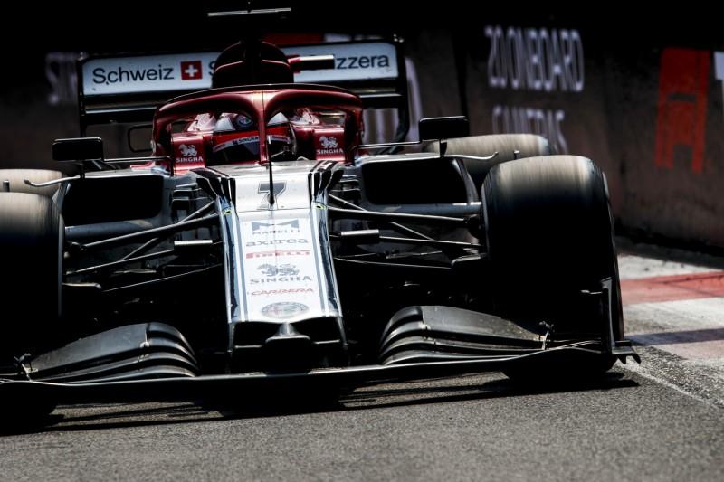 Kimi Räikkönen: Alfa Romeo nur mit brandneuen Reifen schnell
