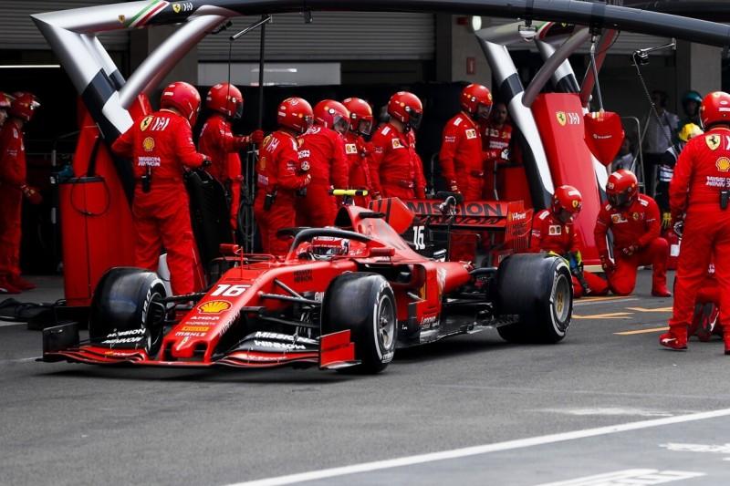Ferrari: Falsche Strategie bringt Charles Leclerc um Podium in Mexiko