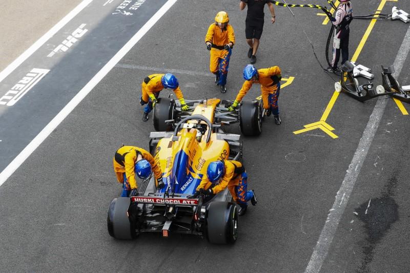 McLaren entkommt Strafe: War Norris' Reifen fest oder nicht?