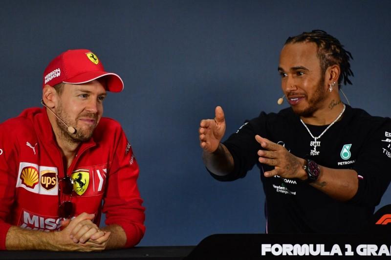 "Teilweise ""Pech"" gehabt: Lewis Hamilton lobt Sebastian Vettel und Ferrari"