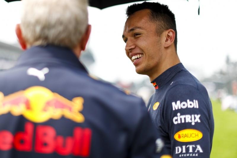 """Hamilton lobt Rookie Albon: """"Ich hoffe, Red Bull ist gut zu ihm!"""""""