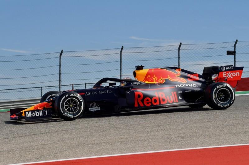 Max Verstappen überrascht: Red Bull auch in Austin stark