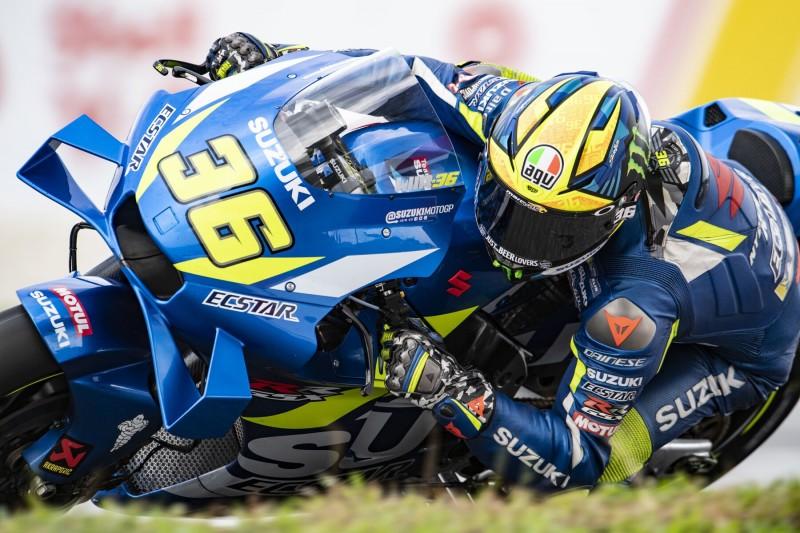 MotoGP in Sepang 2019: Suzuki-Pilot Mir im Warm-up Schnellster vor Yamaha
