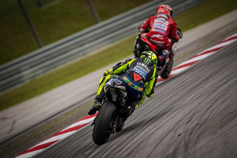"""""""Gutes Rennen"""": Rossi mit schnellster Runde und nah am Podest dran"""