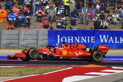 USA-Grand-Prix: Sebastian Vettel scheidet in Runde acht aus