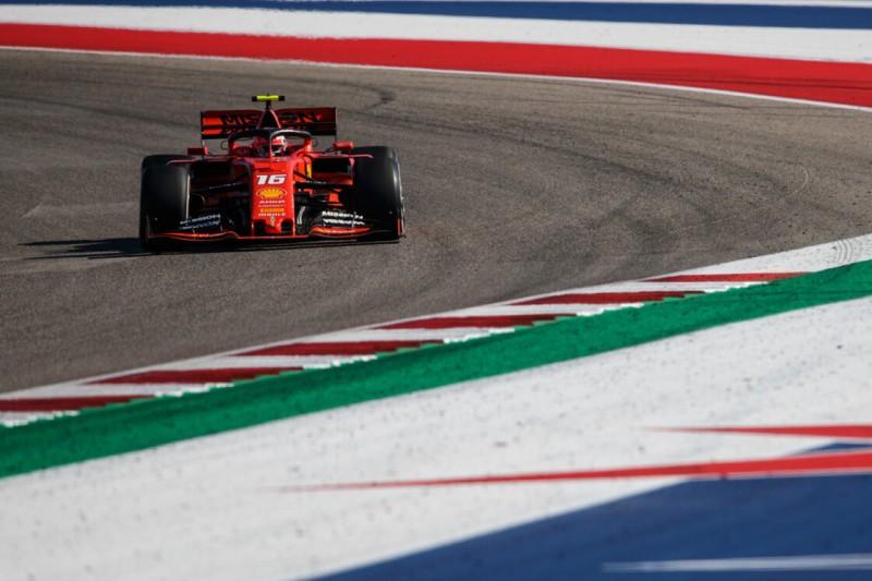 Immerhin schnellste Runde: Leclerc chancenloser Vierter in Austin