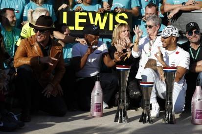 Lewis Hamilton: Merkwürdig, dass ich jetzt der Kerl im TV bin
