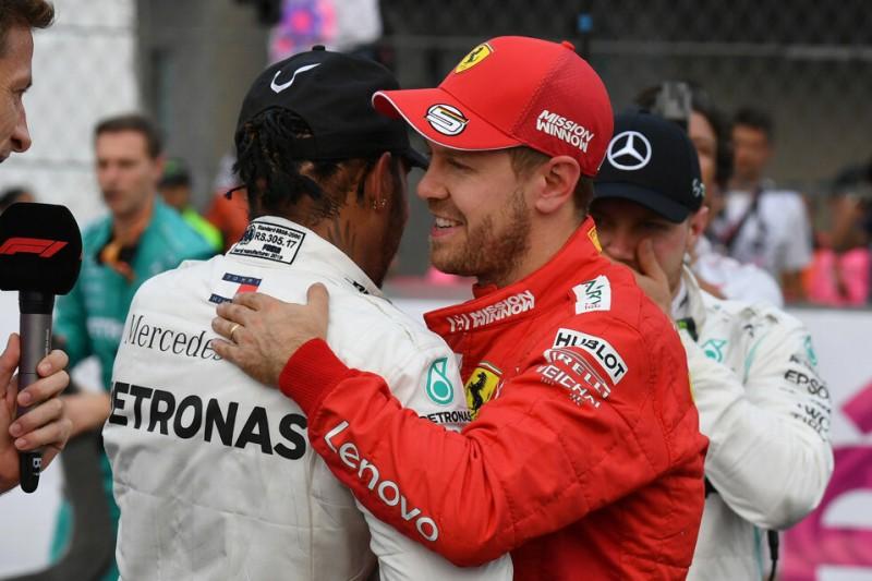 Bei Mercedes bereits neun Titel? Kein Gedanke in Vettels Kopf