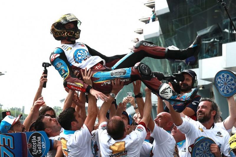 """Moto2-Champion Alex Marquez: """"Denke nicht über die MotoGP nach"""""""