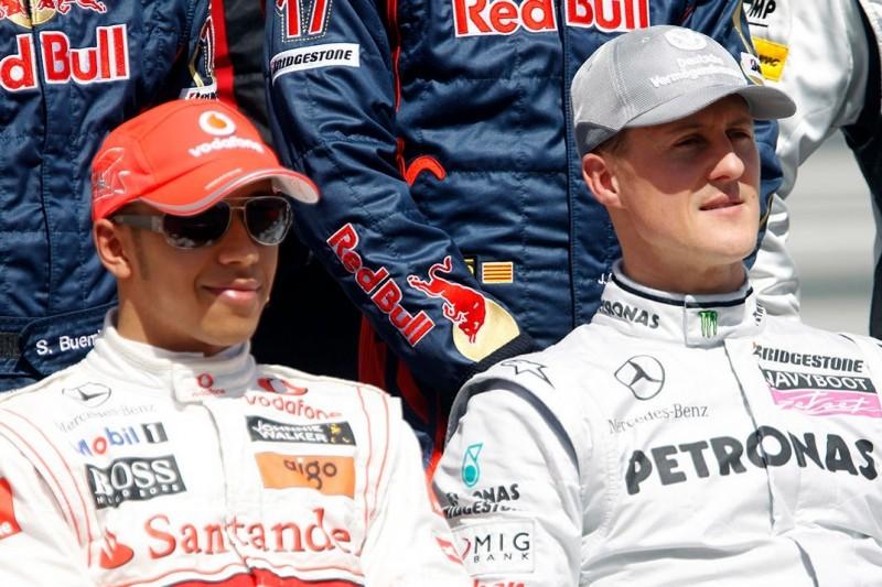 """Eddie Jordan: Deswegen hat Hamilton Schumacher """"schon übertroffen"""""""