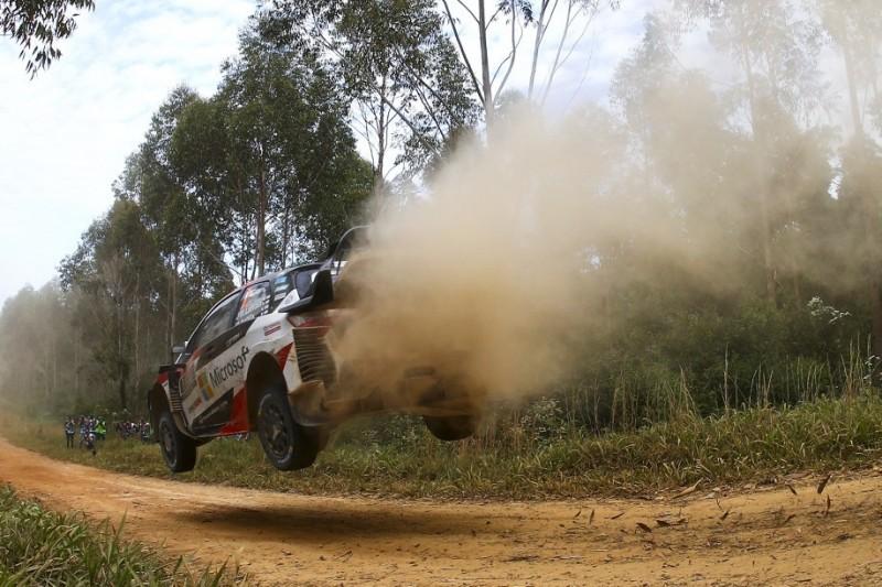 WRC Rallye Australien 2019 durch Buschfeuer bedroht