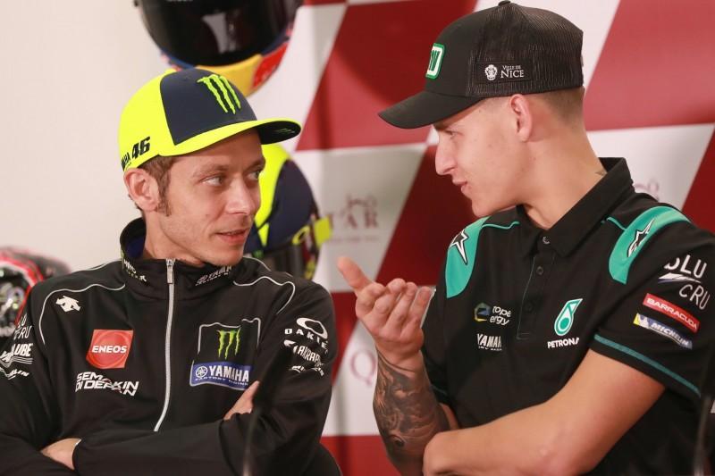 """Rossi über Quartararos Titelchancen 2020: """"Er ist schnell, warum nicht?"""""""