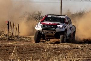 Fernando Alonso nach nur 84 Tagen auf einem Rally-Raid-Podium
