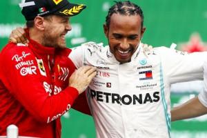 """Vettel gratuliert Hamilton live im TV: """"War nicht klar, dass das jemand sieht"""""""