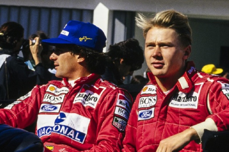 Verzockt: Mika Häkkinen glaubte nicht an Senna-Comeback 1993