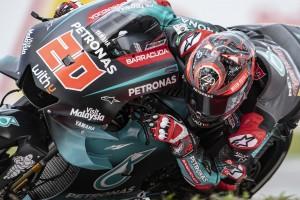MotoGP Valencia 2019: Quartararo-Bestzeit, Rossi-Sturz und Ducati-Feuer im FT1