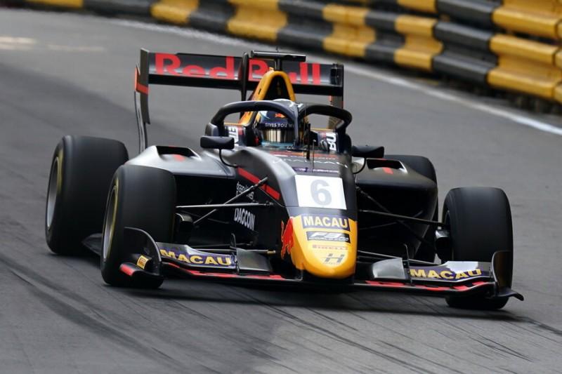 Formel-3-Weltcup Macau: Vips auf Pole, Habsburg verpasst Top 10