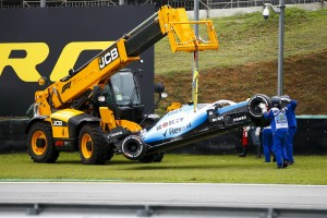 Robert Kubica: Haas war schuld am Trainingsunfall!