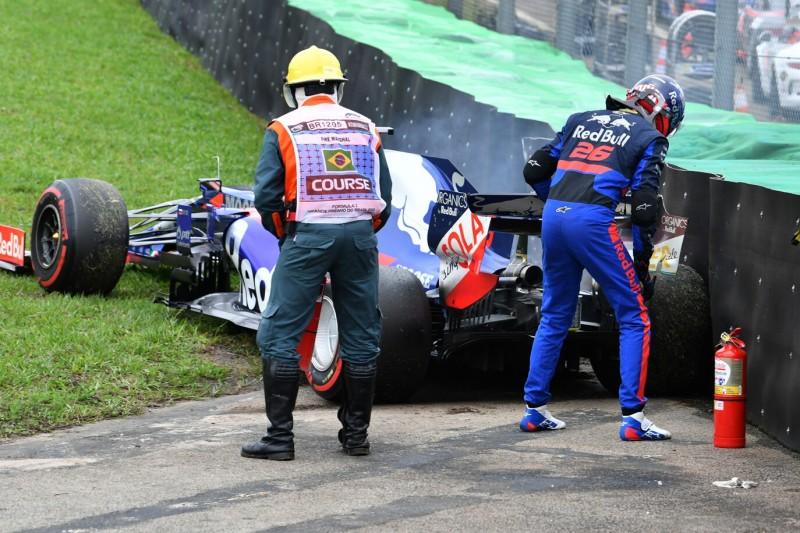 Kein Fahrfehler: Motor hat Daniil Kwjats FT2-Crash verursacht