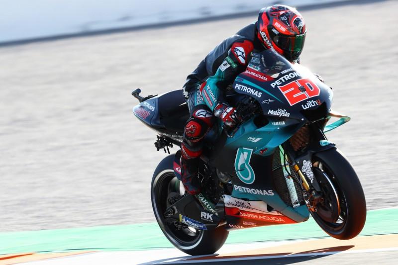 MotoGP Valencia 2019: Quartararo auch im FT3 vorn, Rossi souverän im Q2