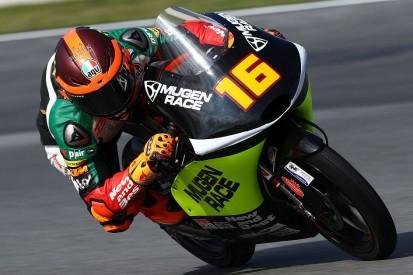 Moto3 Valencia 2019: Andrea Migno beim Saisonfinale auf der Pole-Position
