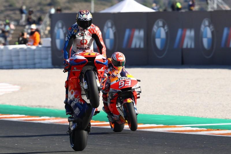 Miller bringt Ducati in Reihe eins, Dovizioso und Petrucci schwächeln