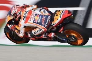 MotoGP Valencia 2019: Marc Marquez stürzt im Warm-up und fährt Bestzeit
