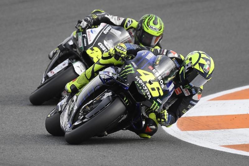 """Rossi in Valencia Achter: """"Bedingungen für ein MotoGP-Rennen am Limit"""""""
