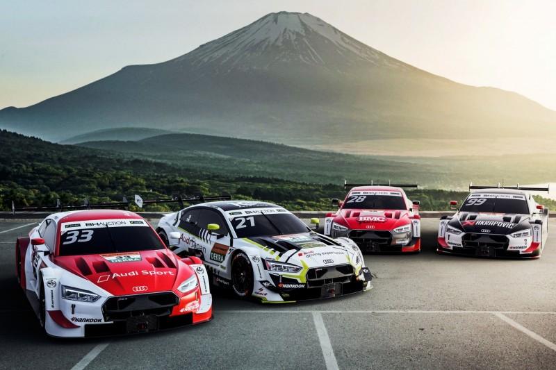 Dream-Race Fuji: Neue Audi-Lackierungen für Rene Rast & Co.