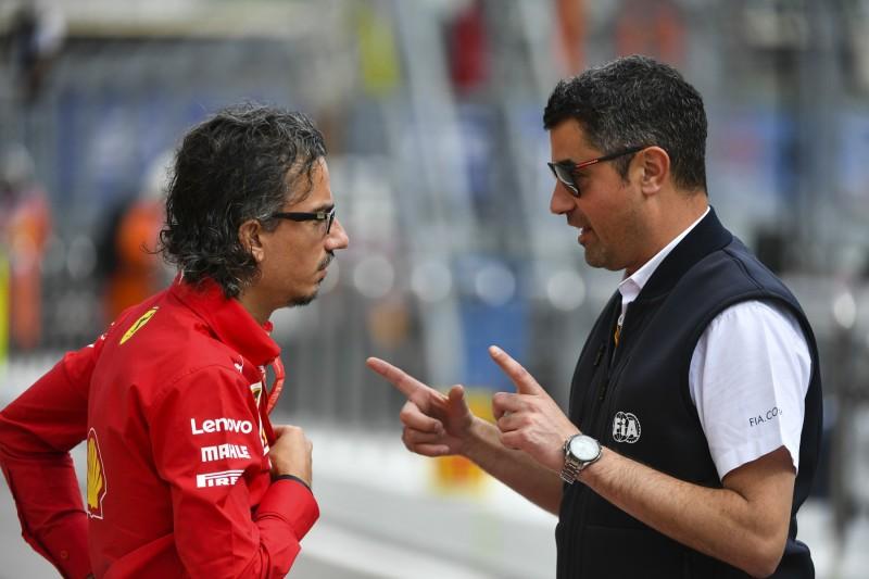 Was der FIA-Rennleiter über die Ferrari-Kollision sagt