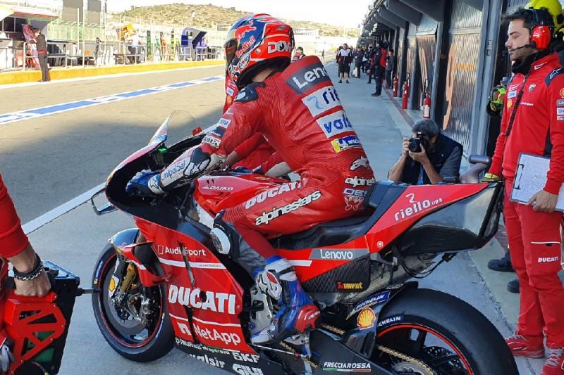 Ducati: Dovizioso testet neues Chassis - Petrucci mit Sparprogramm