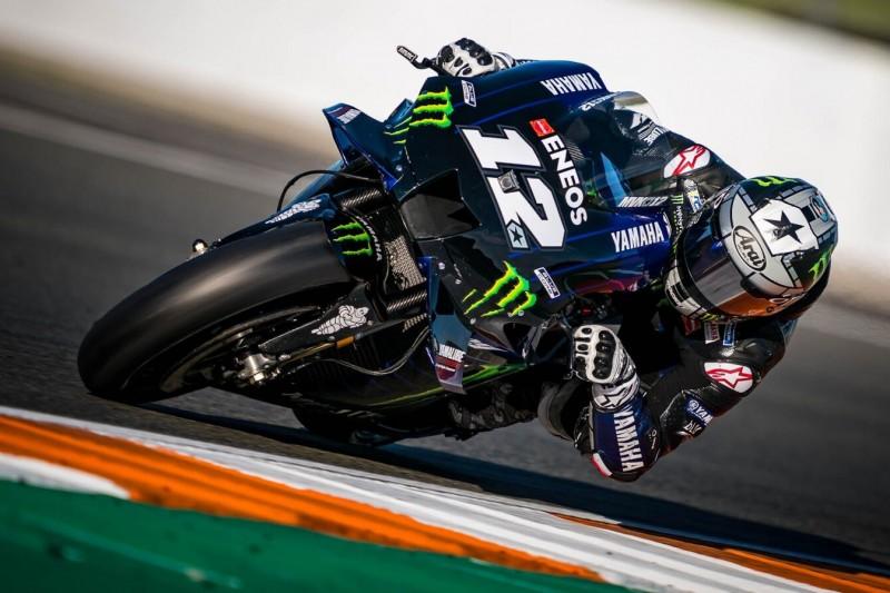 MotoGP-Test Valencia: Vinales mit neuer Yamaha schneller als die Pole-Zeit