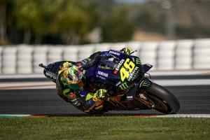 Vinales auf neuer Yamaha Schnellster im Test, Rossi mit technischen Problemen