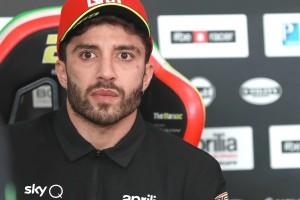 """Seid ihr verrückt?"": Andrea Iannone wütend wegen brennender Aprilia"