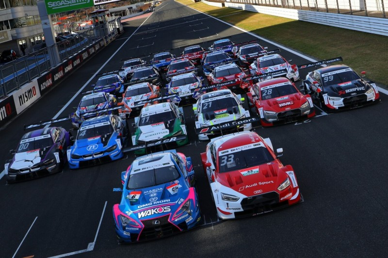 Dream Race in Fuji: Super GT hat bei ersten Test-Sessions die Nase vorn