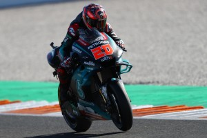Petronas-Duo beim Valencia-Test in den Top 3, neuer Yamaha-Motor in Jerez