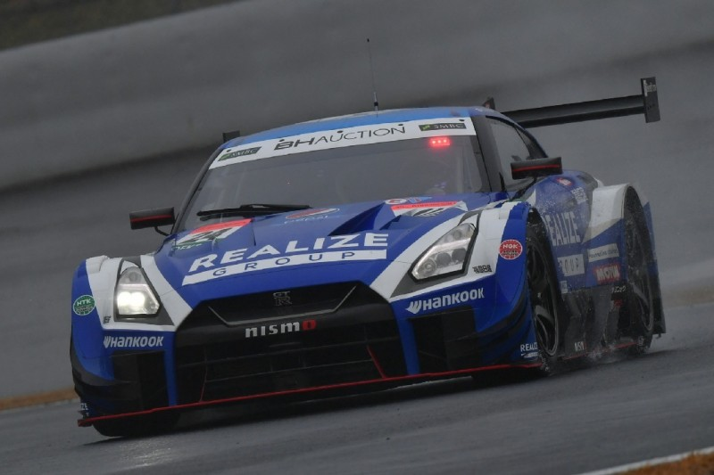 Training Dream-Race Fuji: Super GT auch bei Regen voran