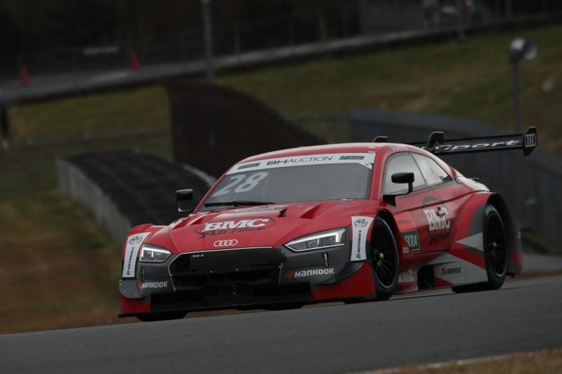 DTM-Drama in Fuji: Audi-Pilot Duval crasht vor dem Start