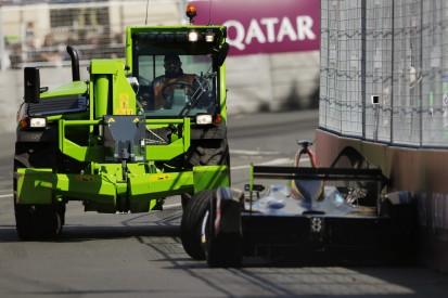 Freigabe trotz Bergungsarbeiten: Rennleiter erklärt Traktor-Panne