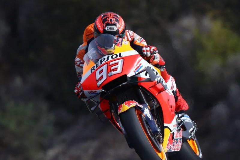 Marc Marquez erklärt Sturz im Jerez-Test, Bruder Alex bester MotoGP-Rookie