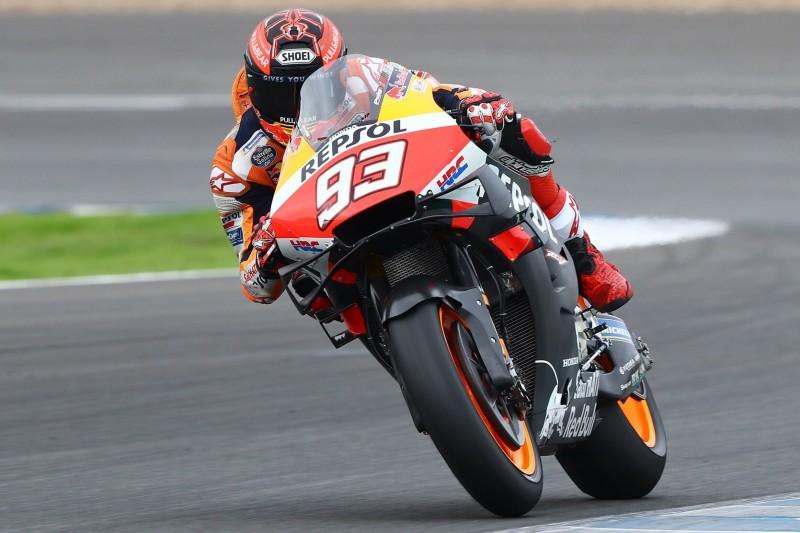 MotoGP-Test Jerez Dienstag: Regen sorgt für eingeschränkten Fahrbetrieb