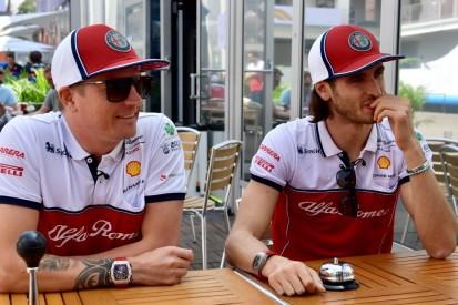 """Kimi Räikkönen: """"Habe gewusst, dass Giovinazzi den Speed hat"""""""