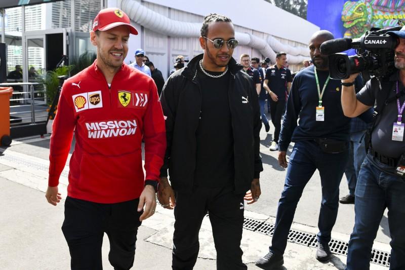 """Lewis Hamilton gratuliert Vettel zum Baby: """"Für mich noch weit weg"""""""