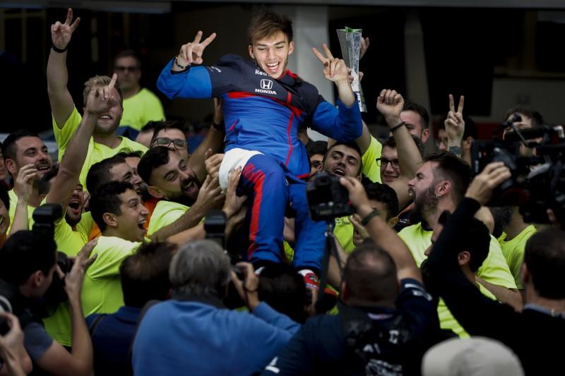 """Gasly nach Brasilien-Podium: Das war die """"schlechteste Feier aller Zeiten"""""""