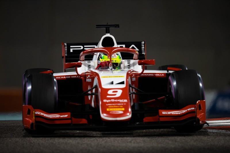 Formel 2 Abu Dhabi 2019: Schumacher bei Camara-Sieg in den Top 10