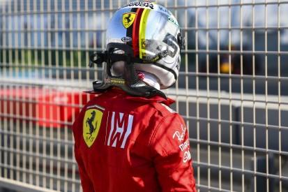 Nach Crash im Training: Deshalb schimpft Vettel auf Finnisch